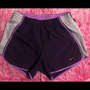 Nike Dri-Fit Purple Running Shorts | XS